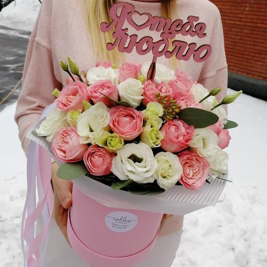 Love you: букеты цветов на заказ Flowwow