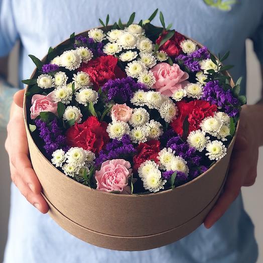 Ring 17 Средний: букеты цветов на заказ Flowwow