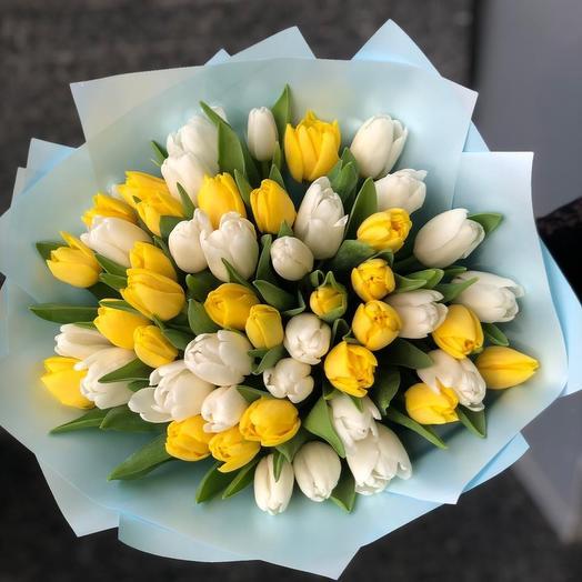 51 тюльпан: букеты цветов на заказ Flowwow