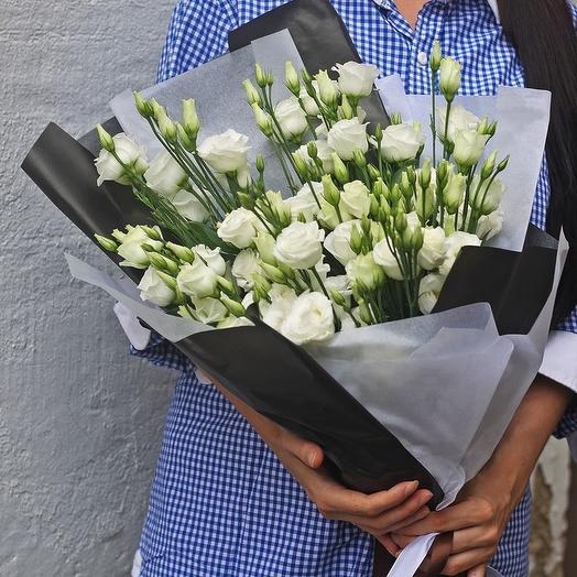 Эустома белая: букеты цветов на заказ Flowwow