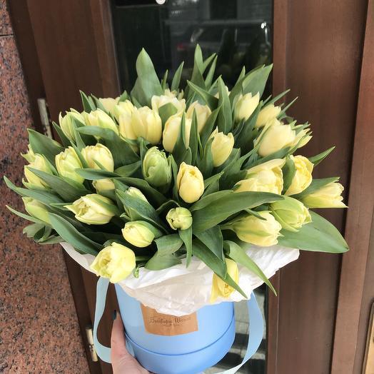 Пионовидные тюльпанчики: букеты цветов на заказ Flowwow