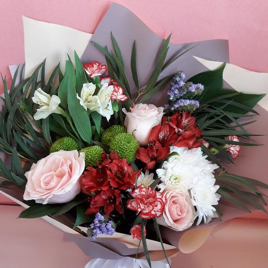 Mixed bouquet: flowers to order Flowwow