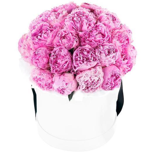 """Пионы """"Зефирное настроение"""": букеты цветов на заказ Flowwow"""
