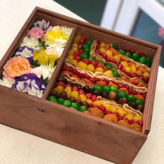 Вкусный набор: букеты цветов на заказ Flowwow