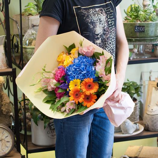 "Букет цветов ""Красочный: букеты цветов на заказ Flowwow"