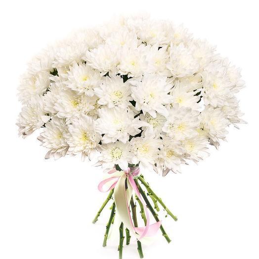 Белее снега: букеты цветов на заказ Flowwow
