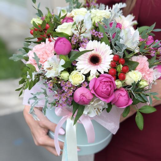 ЦВЕТЫ Любимка: букеты цветов на заказ Flowwow