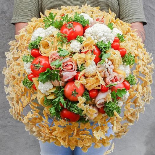 Съедобный букет с беконом: букеты цветов на заказ Flowwow