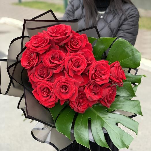 РОЗЫ элитные: букеты цветов на заказ Flowwow