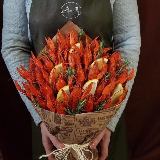 Аппетитные клешни: букеты цветов на заказ Flowwow