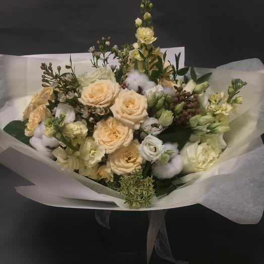 Букет «Белоснежный»: букеты цветов на заказ Flowwow