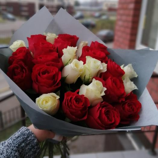Классика - 25 роз🌹: букеты цветов на заказ Flowwow