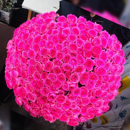 Розы мисти баблс 201 шт: букеты цветов на заказ Flowwow