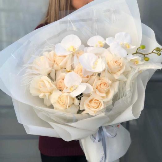Нежная снежинка: букеты цветов на заказ Flowwow