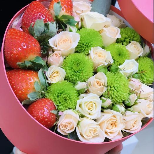 Сюрприз️🍓: букеты цветов на заказ Flowwow