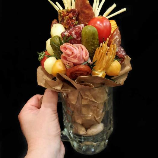 Кружка к пиву: букеты цветов на заказ Flowwow