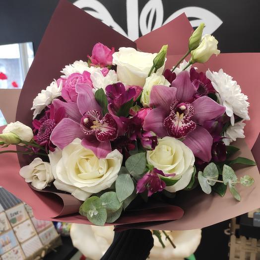 Элегантный: букеты цветов на заказ Flowwow