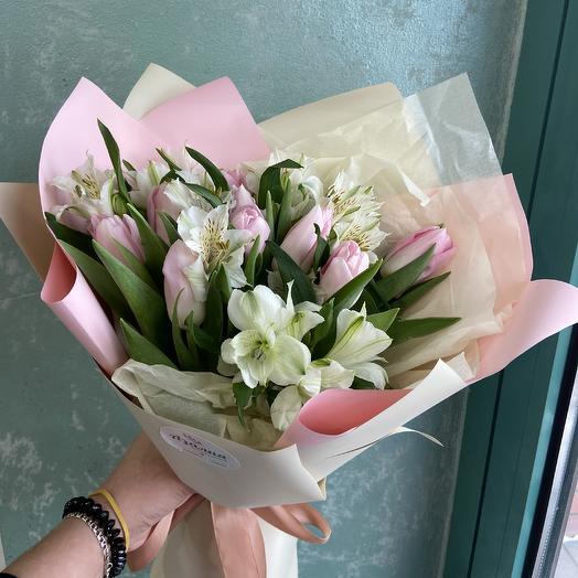 Весеннее чудо: букеты цветов на заказ Flowwow
