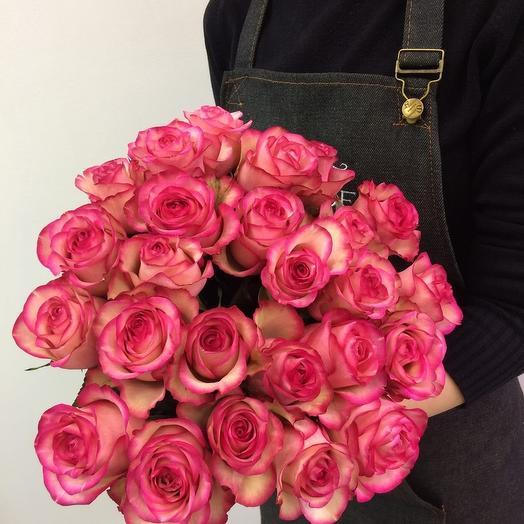 Букет 19 роз Эквадор: букеты цветов на заказ Flowwow