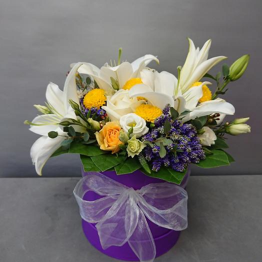 Сиреневый шёлк: букеты цветов на заказ Flowwow