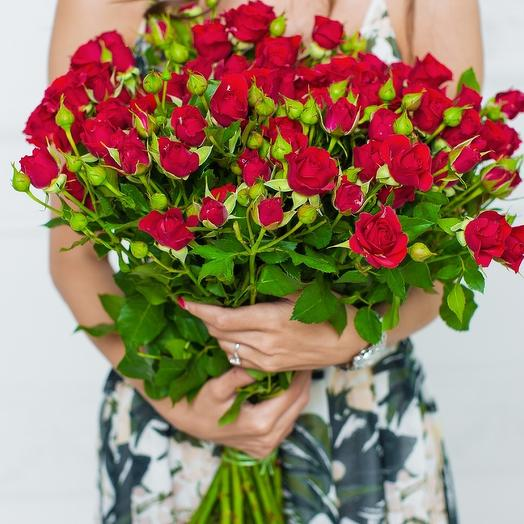 Букет моно: букеты цветов на заказ Flowwow