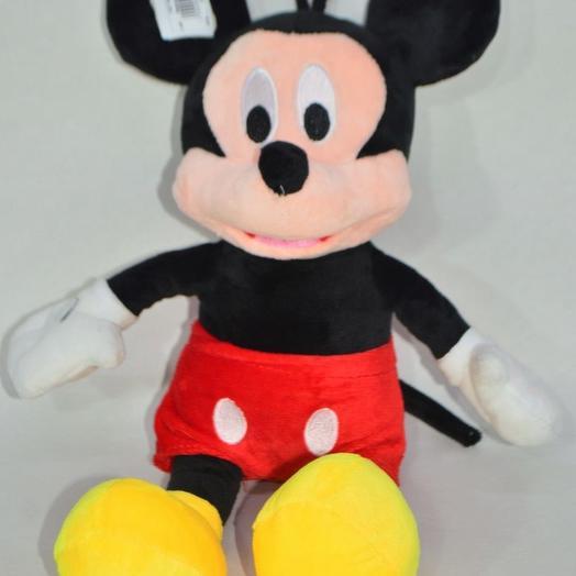 Мягкая игрушка Микки Маус, 35 см, W107-6: букеты цветов на заказ Flowwow