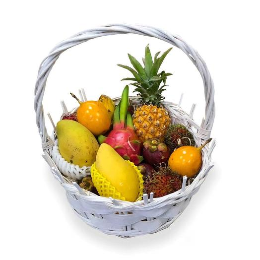 Корзина экзотических фруктов «Акуна матата»