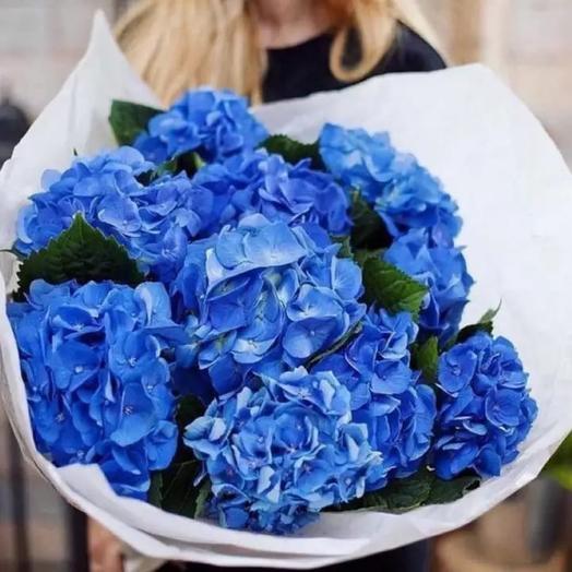 Букет цветов «Голубая лагуна»