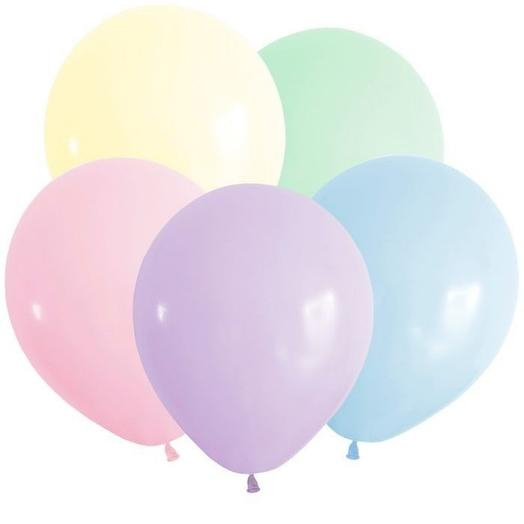 5 helium balloons