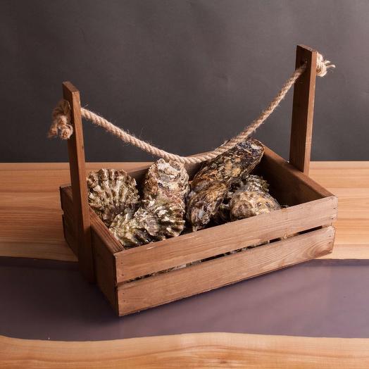 Ящик с устрицами