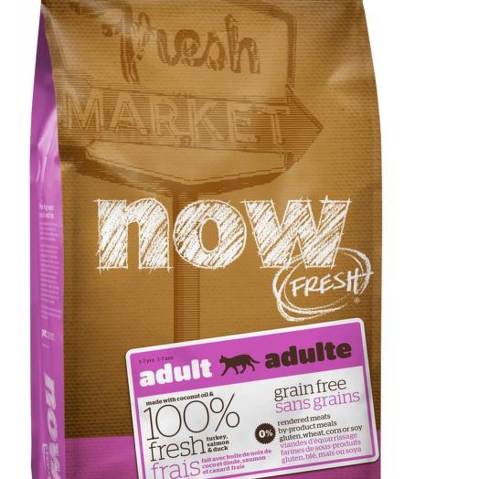 NOW FRESH беззерновой сухой корм для кошек с индейкой, уткой и овощами 3,63 кг