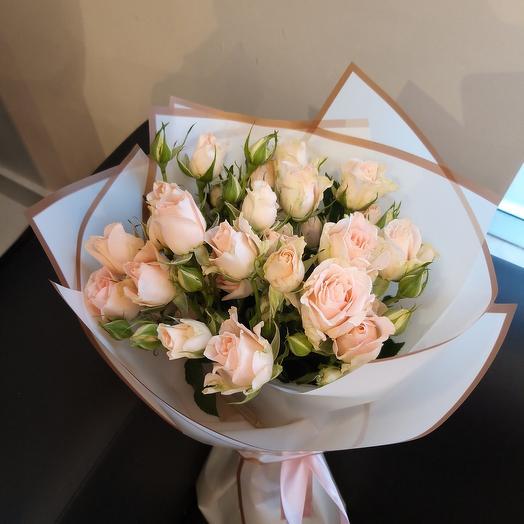 Букет из кустовых роз 😍
