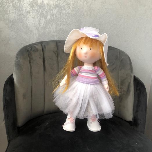 Handmade doll 37 cm