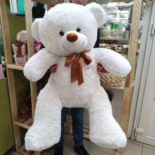 Мишка 160 см белый
