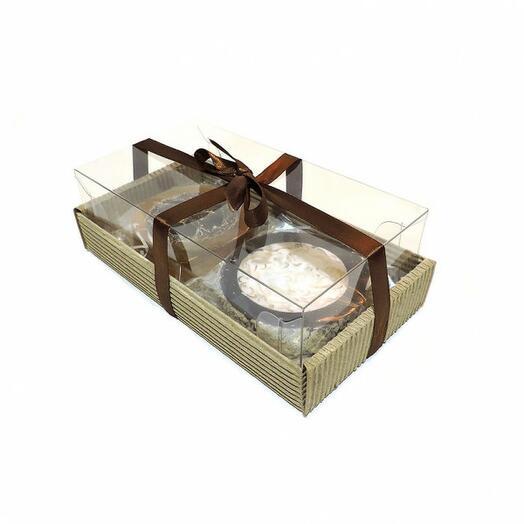 Набор подарочный 19 (мыльное ассорти ручной работы 2 вида)