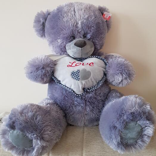 Плюшевый медведь LOVE