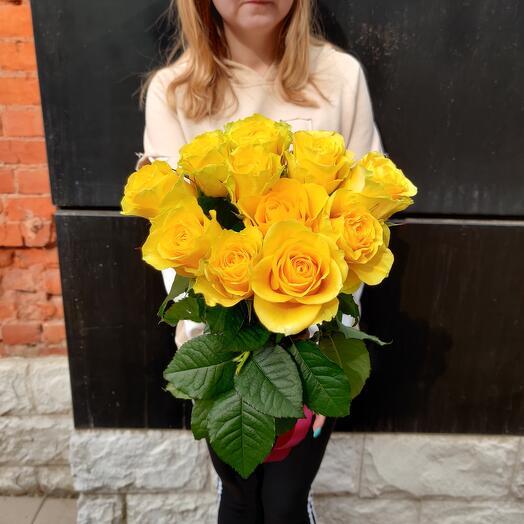 11 солнечных роз