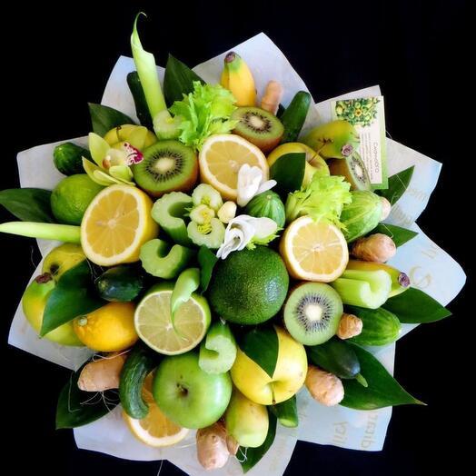 Фруктовое овощной букет