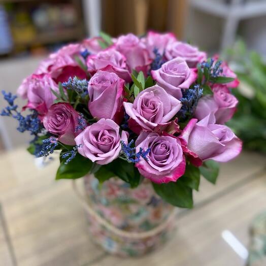 Цветы в коробке 02