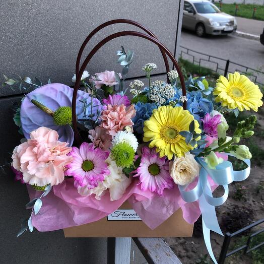 Цветочная сумка