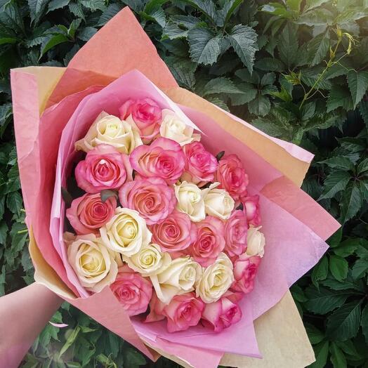 Рэйчел - 25 нежных роз