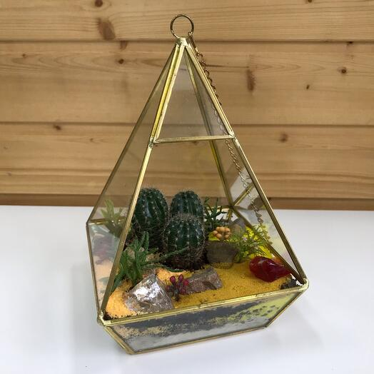 Флорариум пирамида подвесная