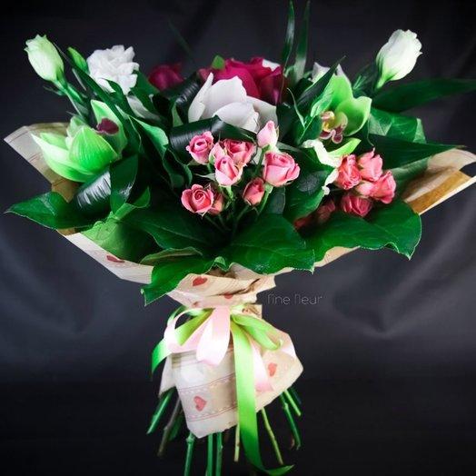 Букет Так носят в Париже: букеты цветов на заказ Flowwow