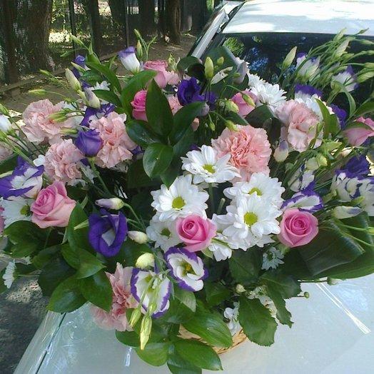Корзина Фантазия: букеты цветов на заказ Flowwow