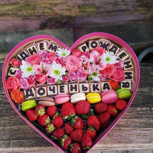 С днем рождения доченька: букеты цветов на заказ Flowwow