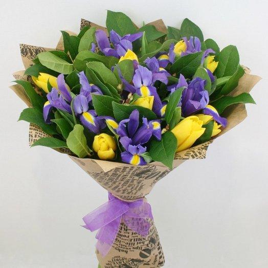 Букет весенний : букеты цветов на заказ Flowwow