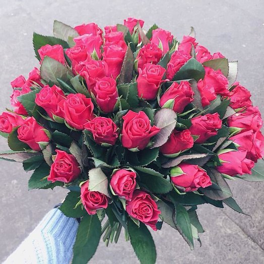 "Букет ""Малиновый звон"": букеты цветов на заказ Flowwow"