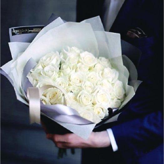 Букет из роз  Аваланж