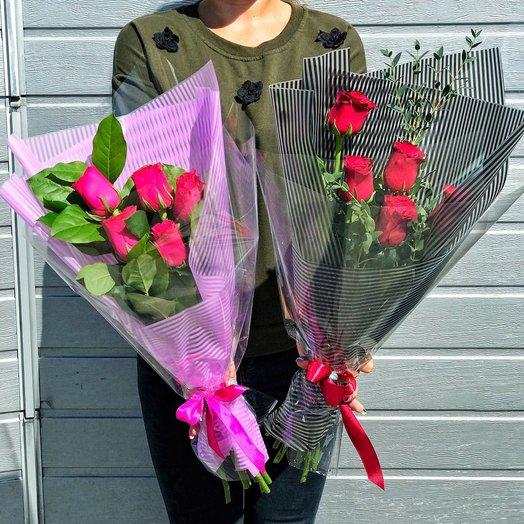 """Букет """"Стильная роза"""": букеты цветов на заказ Flowwow"""