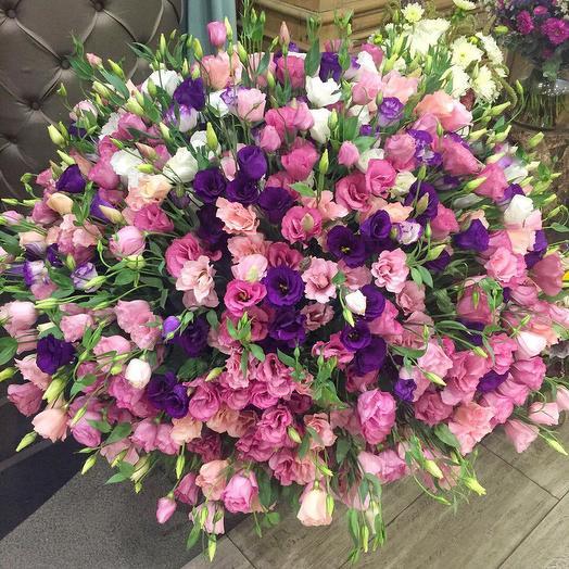 Эустома 79шт: букеты цветов на заказ Flowwow